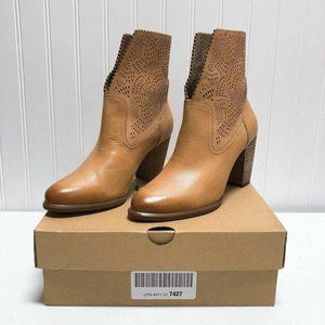 *Ugg Australia Brown Booties Ankle Thames Size 7